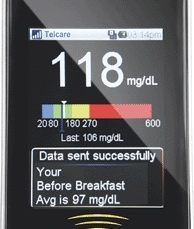 Demonstration of Telcare's cellular and cloud based glucometer