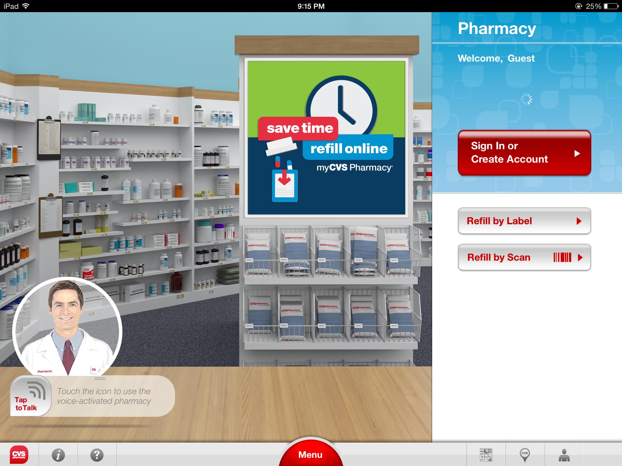 cvs iphone and ipad medical app review