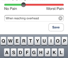 The PainDiary App is a diary you'll be happy to share with your orthopedic surgeon