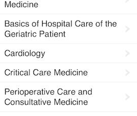 Tarascon Hospital Medicine pocketbook available as an app