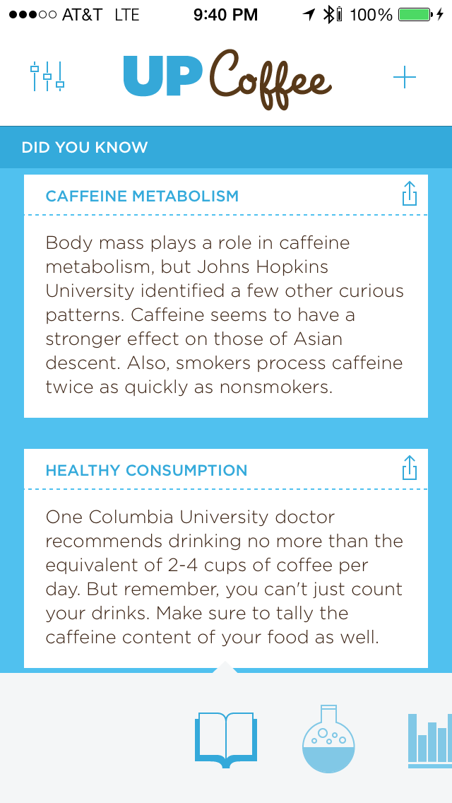 Jawbone UP Coffee iphone and ipad medical app review