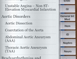 """Lanthier Practical Guide to Internal Medicine app tries to replace the """"Red Book"""""""