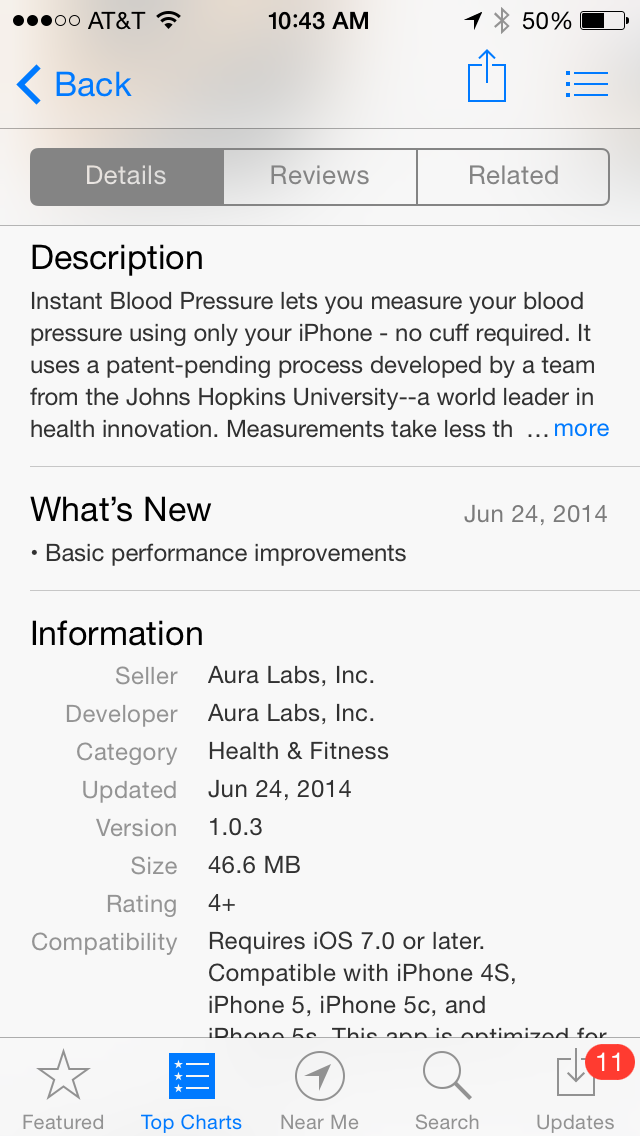 Top 10 Downloaded Iphone Health App Can Cause Significant Patient