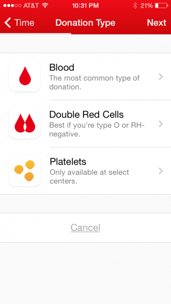 bloodappdonationtype
