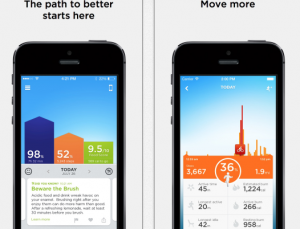 Jawbone UP is the only fitness band app with Apple's Healthkit integration
