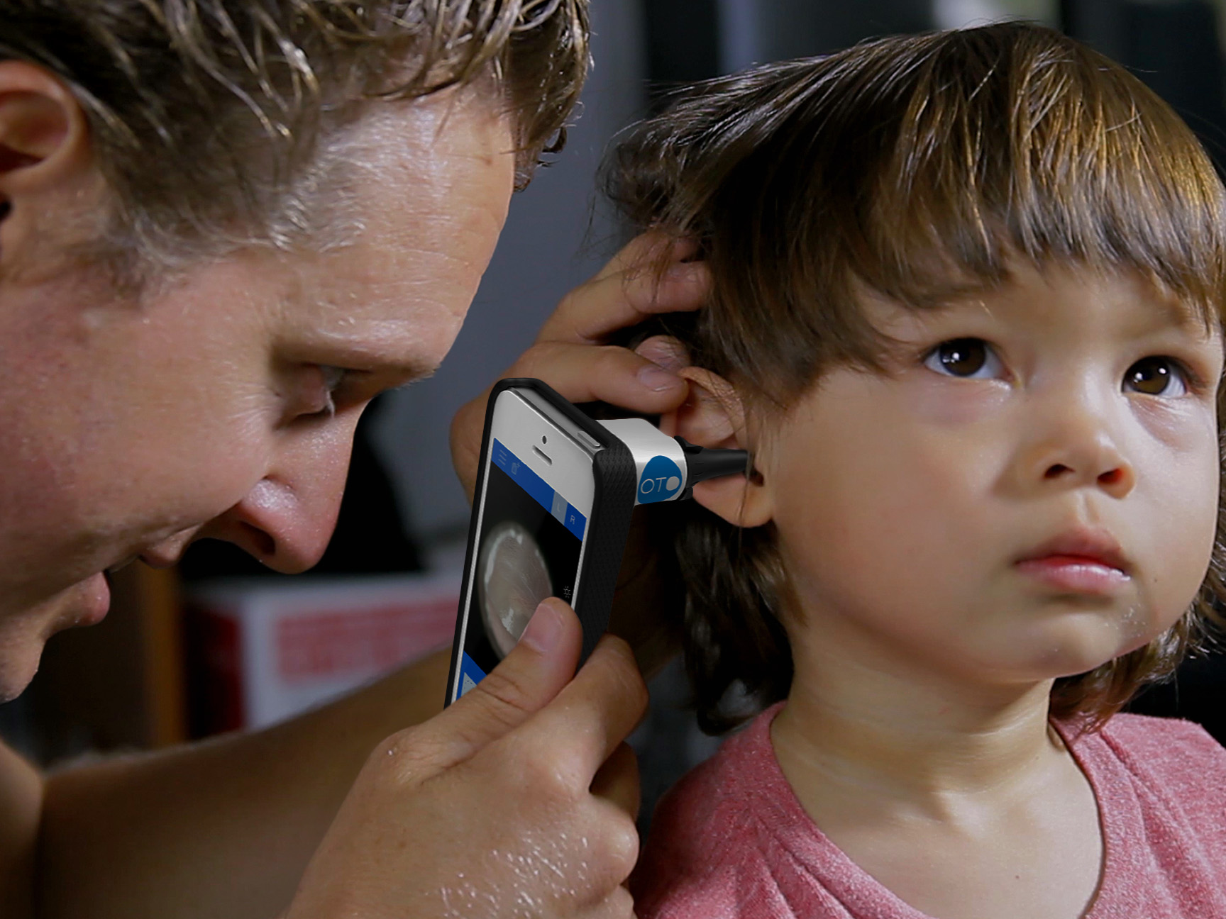 Using an iphone app to diagnose ear infections at home for Interieur vagin