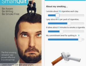 Is clinical trial tested SmartQuit app really a smart choice for smokers?