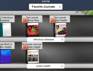 Browse your library's e-journals on your device with BrowZine