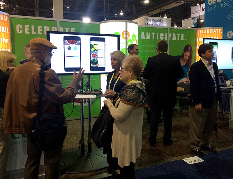 Dexcom CES showcase debuts the Meal Memory iPhone app for Diabetes