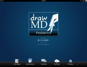 DrawMD Pediatrics is a great app for communicating with kids and their parents