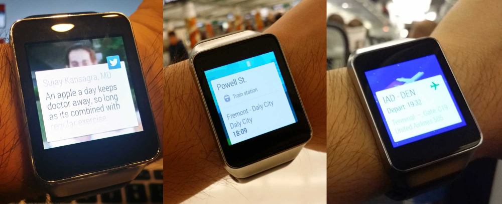 Medical apps for the Android Wear smartwatch