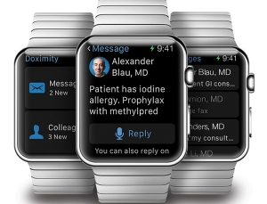Doximity launching Apple Watch app, includes HIPAA compliant messaging using just Watch