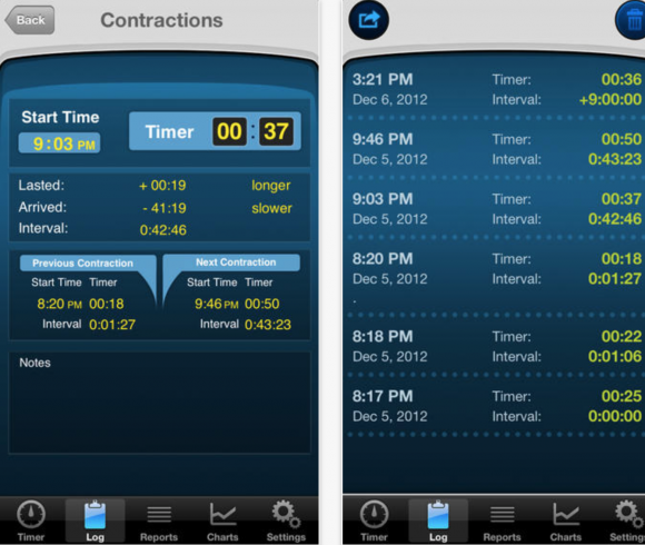 contraction timer app 1