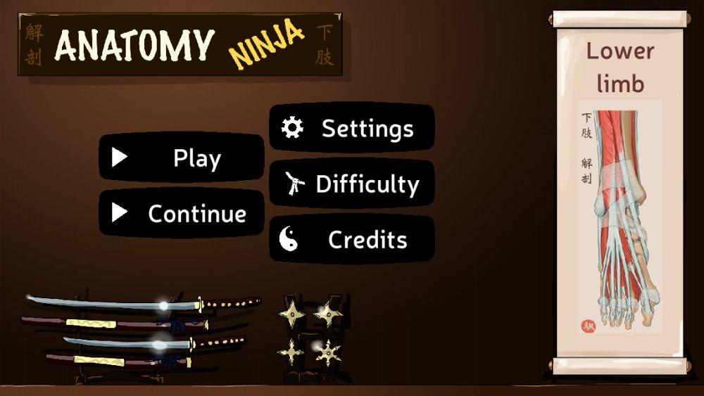 Using Gaming To Learn Anatomy Review Of Imaios Anatomy Ninja Lower