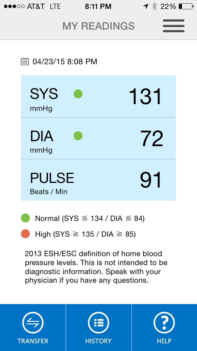 Physician Review Of The Omron Bluetooth Blood Pressure Monitor