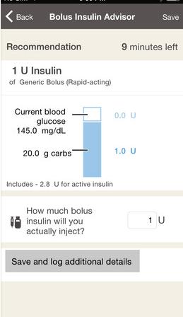 accucheck glucose