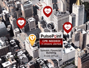 PulsePoint delivers crowd-sourced CPR through your smartphone for victims of cardiac arrest