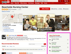 Yelp's addition of health metrics into doctor reviews has pitfalls