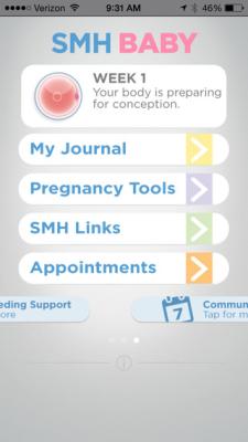 SMH Baby App