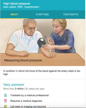 Google Hypertension Info