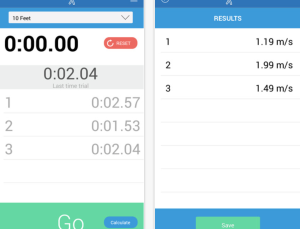 Review of Gait Speed, app aimed at physical therapists and rehab clinicians