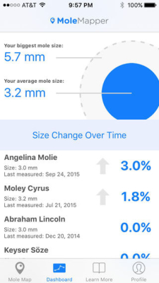 Mole Mapper App