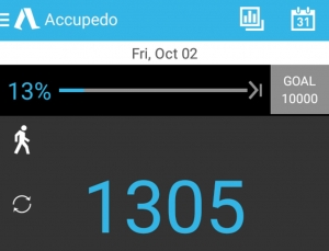 Accupedo is an outstanding pedometer app with some evidence to support effectiveness
