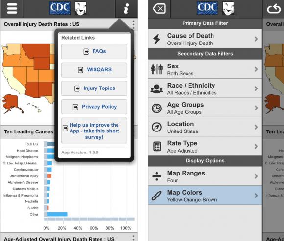 cdc app mortality