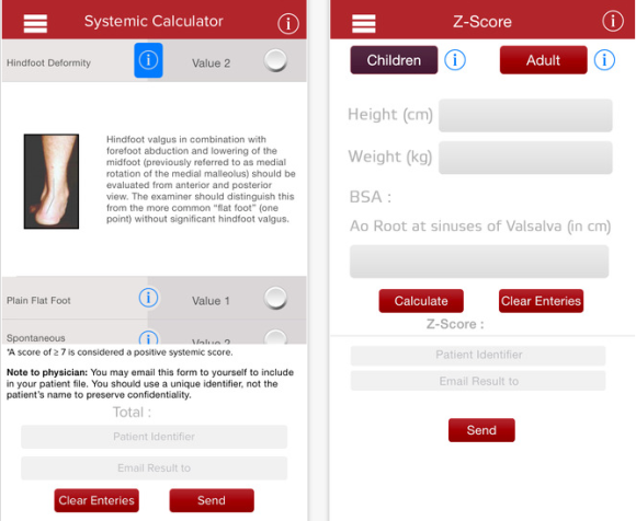 marfan syndrome app