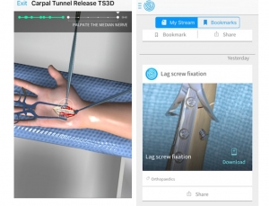 TouchSurgery update improves on previous app success