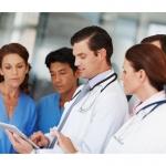 Doctors Using Tablet