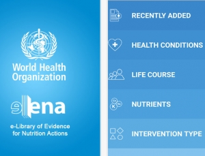 World Health Organization Releases Nutrition app, eLENAmobile