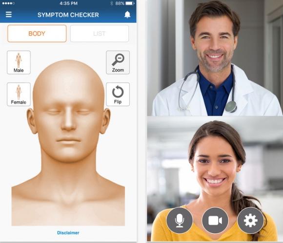 MD live telemedicine app