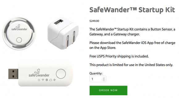 safe wanderer device
