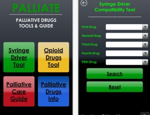 Palliate Guide app review, a tool for Palliative Care and Hospice providers