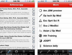SportsMed is a medical literature app that curates the latest on sports medicine