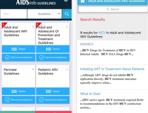 National Library of Medicine releases free HIV Guidelines App
