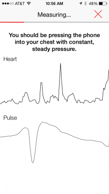 Instant Blood Pressure App study