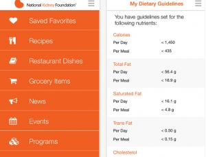 These free medical apps by The National Kidney Foundation can help physicians and patients