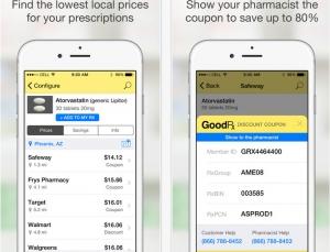 Prescription medication discounts with GoodRx
