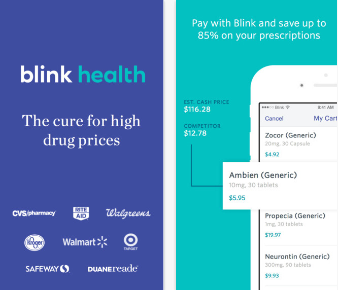 blink health app review an app to find cheaper presciptions
