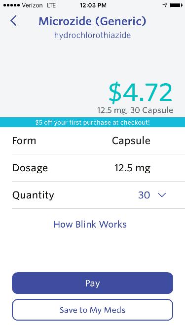 blink health prescriptions