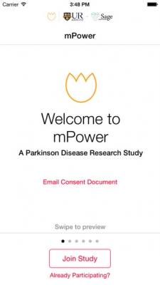 mPower ResearchKit Study