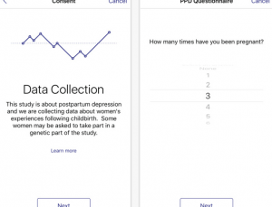 Postpartum Depression ResearchKit app will collect genetic data for study