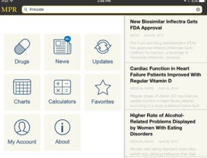 MPR app review, drug reference app that puts more than just dosing at your fingertips