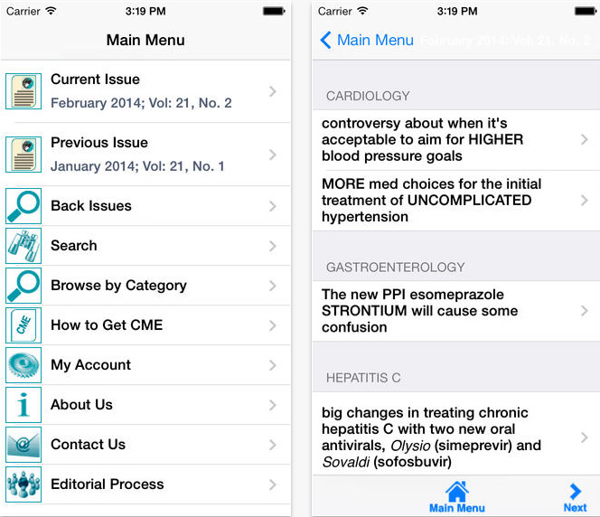 Prescriber's Letter app review, evidence based info on prescribing medications - iMedicalApps