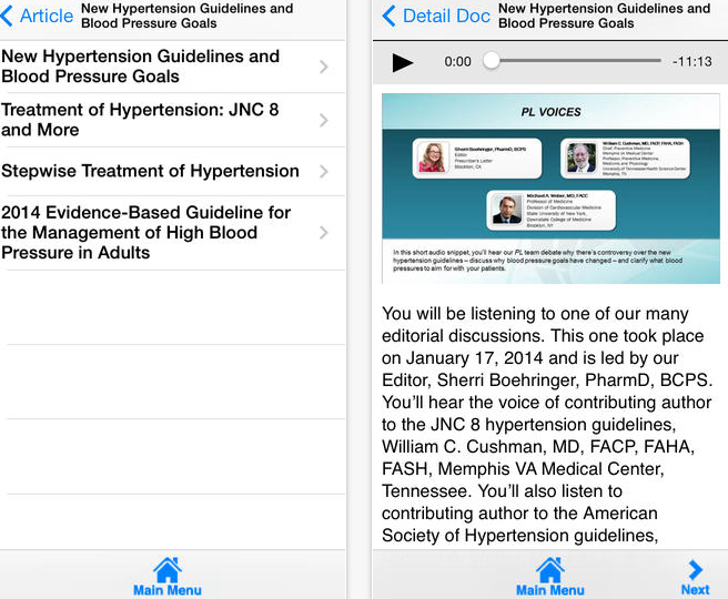 Prescriber s Letter app review evidence based info on prescribing