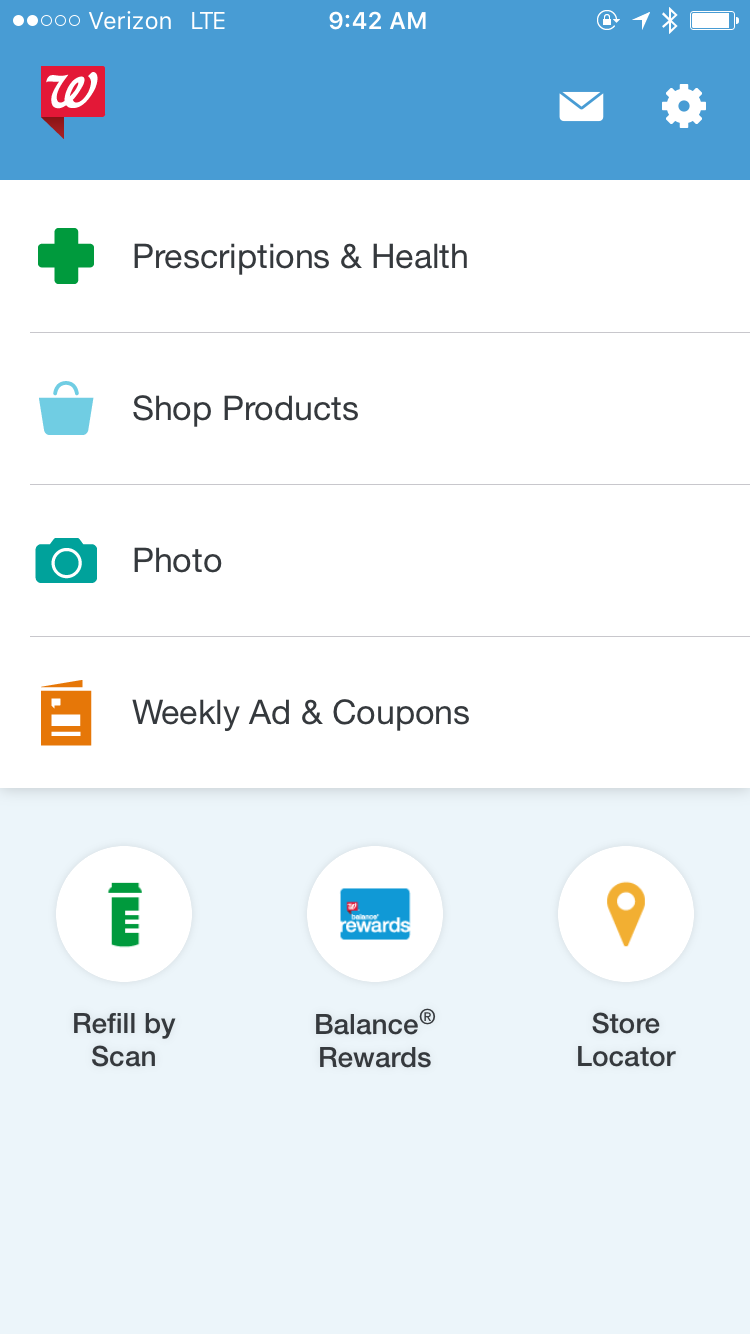 patients can order prescription refills directly from the app by setting up a pharmacy account for current walgreens customers ownership of a pharmacy