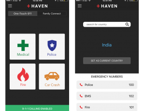 RapidSOS Haven app shares location & health information with 911 dispatchers