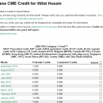 cme credits through EPIC